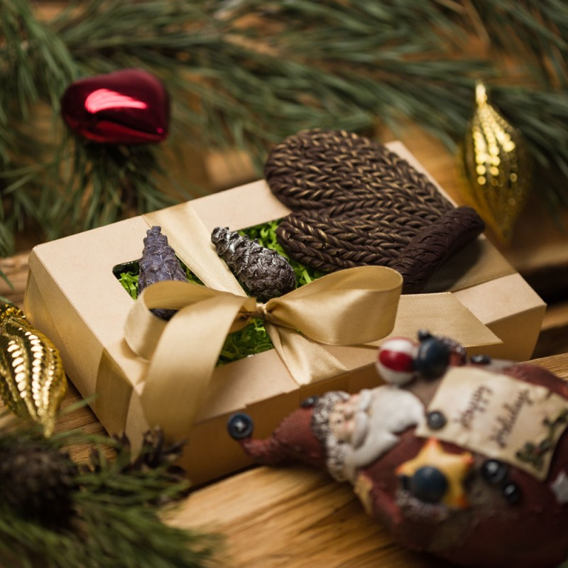Вязаный шоколад от 30 штук
