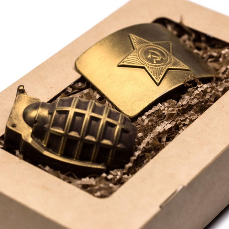 Шоколадный набор защитник Отечества № 1 от 50 штук