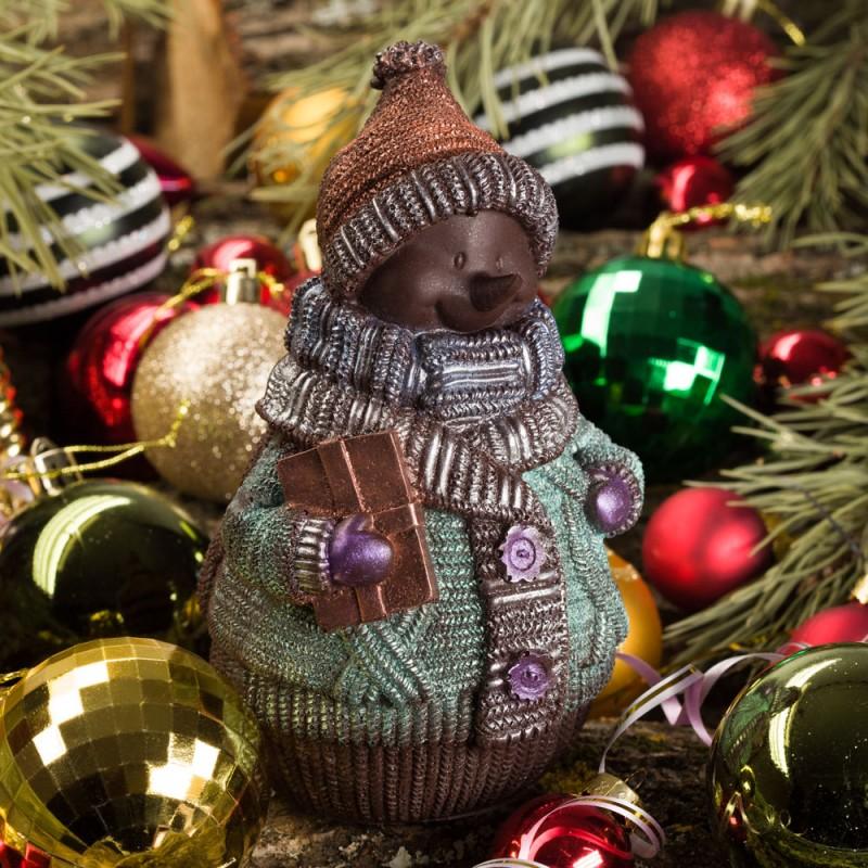 Шоколадный Снеговик