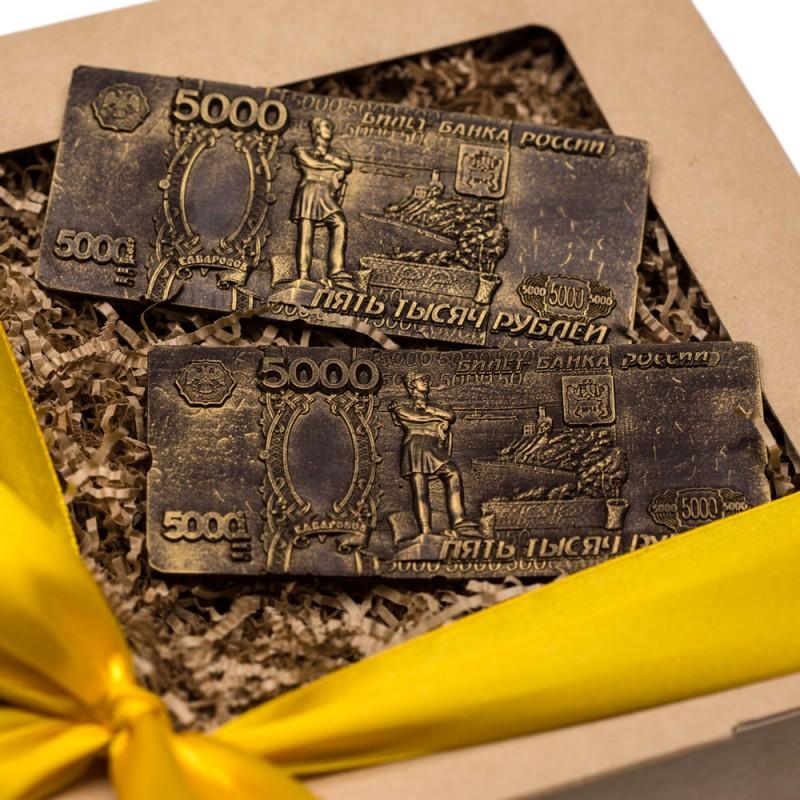Шоколадные деньги от 20 штук