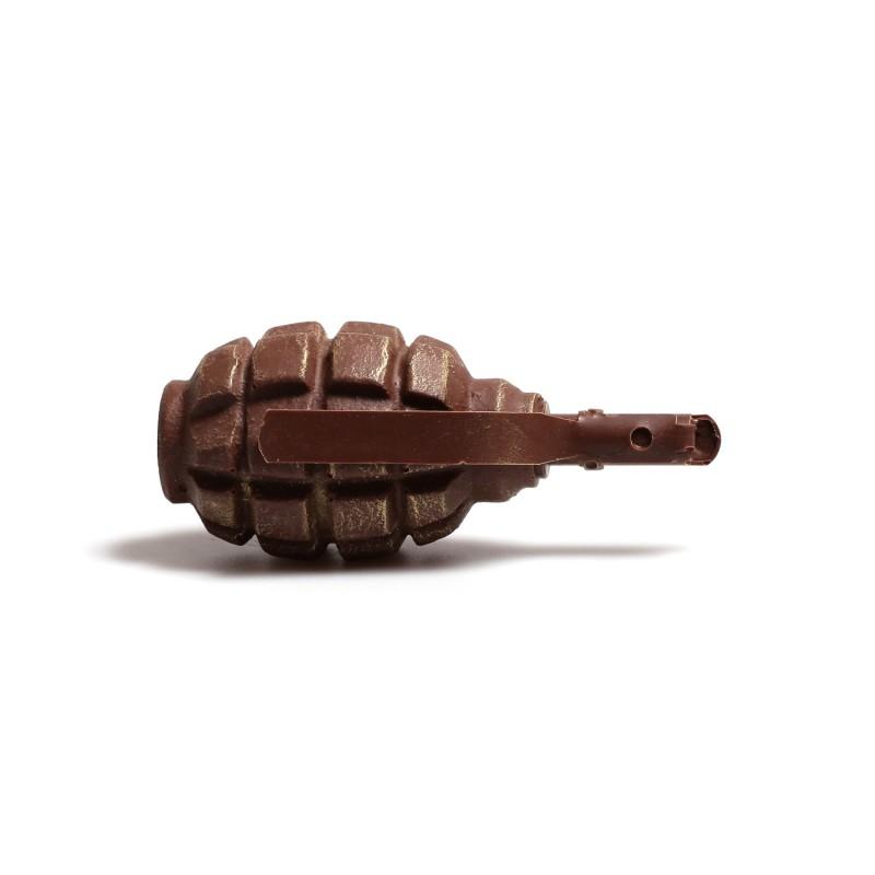 Силиконовая форма гранаты Ф-1 (ЛИМОНКА)
