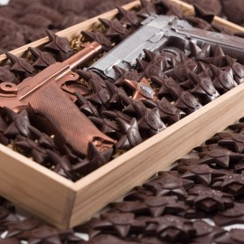 Бизнес шоколад на 23 февраля
