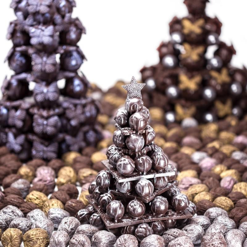 Корпоративная шоколадная елка