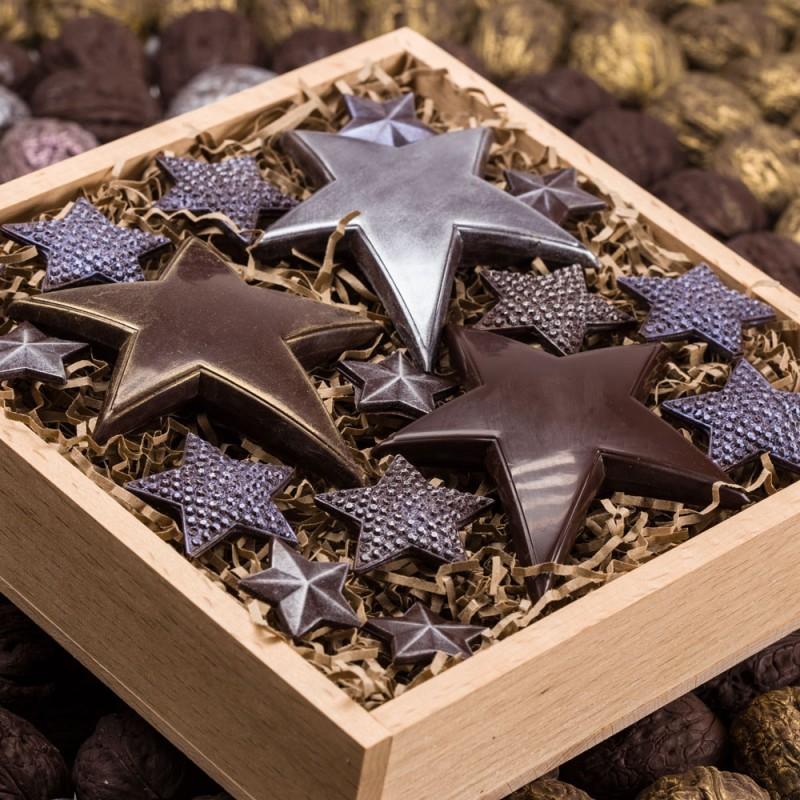 Шоколадные звезды