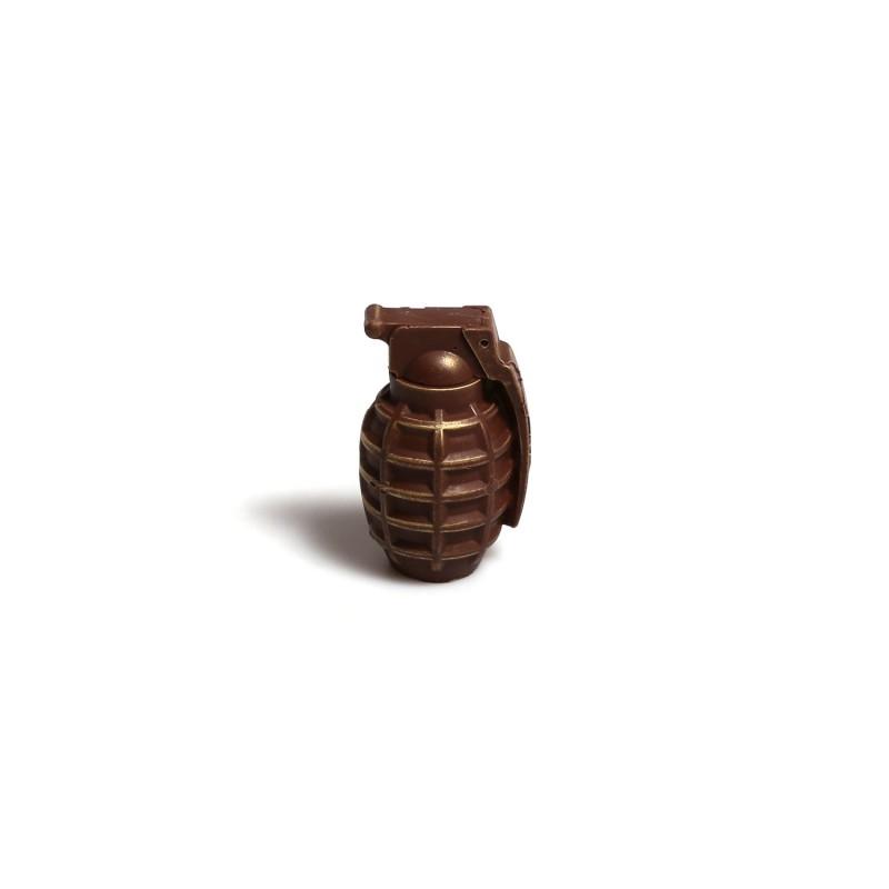 Силиконовая форма сувенирной гранаты
