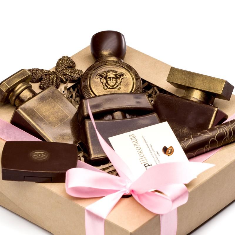Шоколадные духи от 10 штук