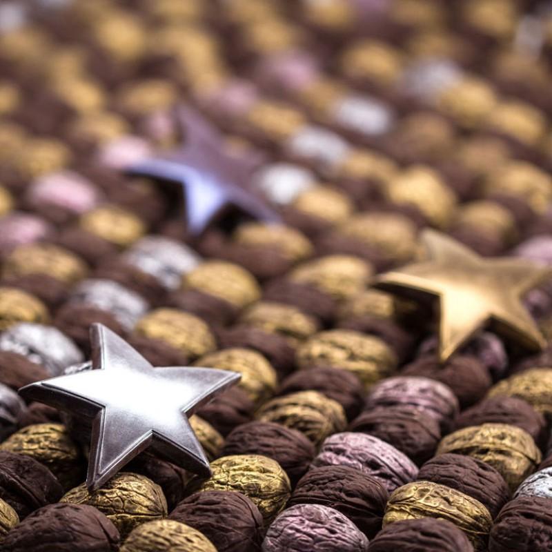 Тираж шоколадных орехов