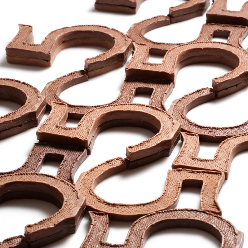 Тираж шоколадных пятерок