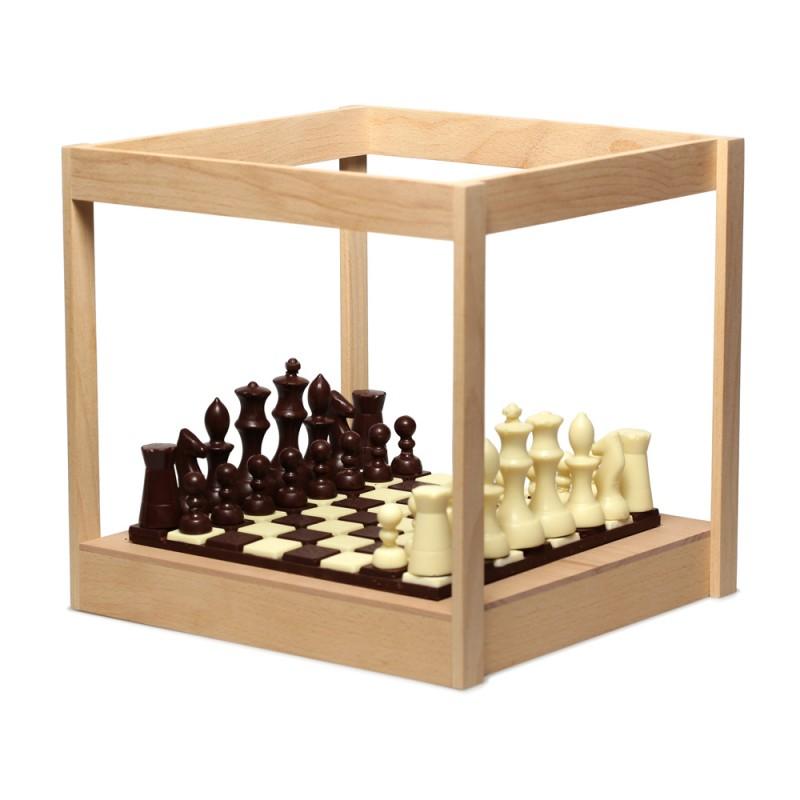 Шахматы из шоколада