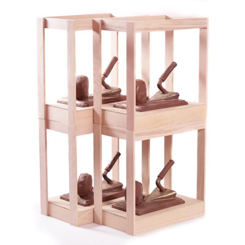 Тираж для строителей в шоколаде