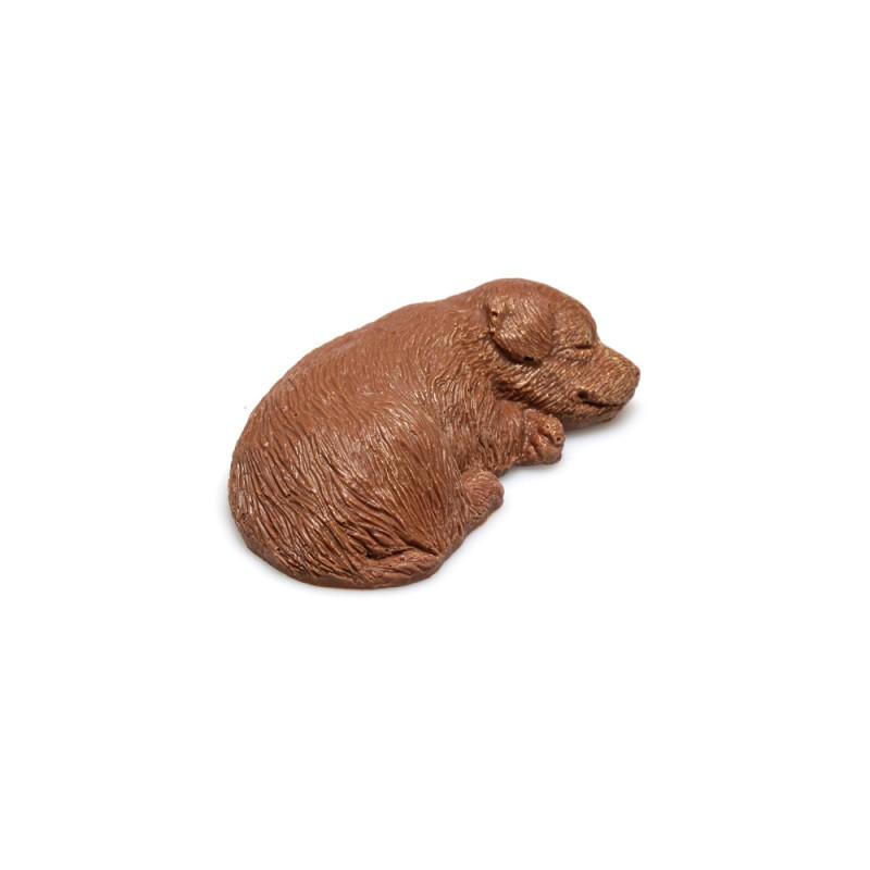 Шоколадная собачка сторожевая