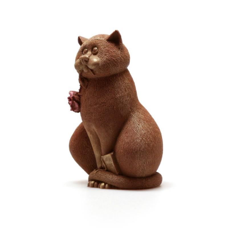 Кот с розой (Belgium)