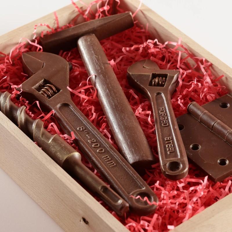 Шоколадные инструменты своими руками 10