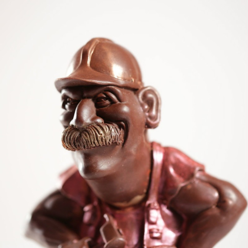 Шоколадный строитель