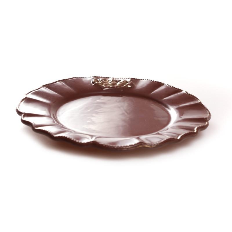 Форма шоколадная тарелка Б/У