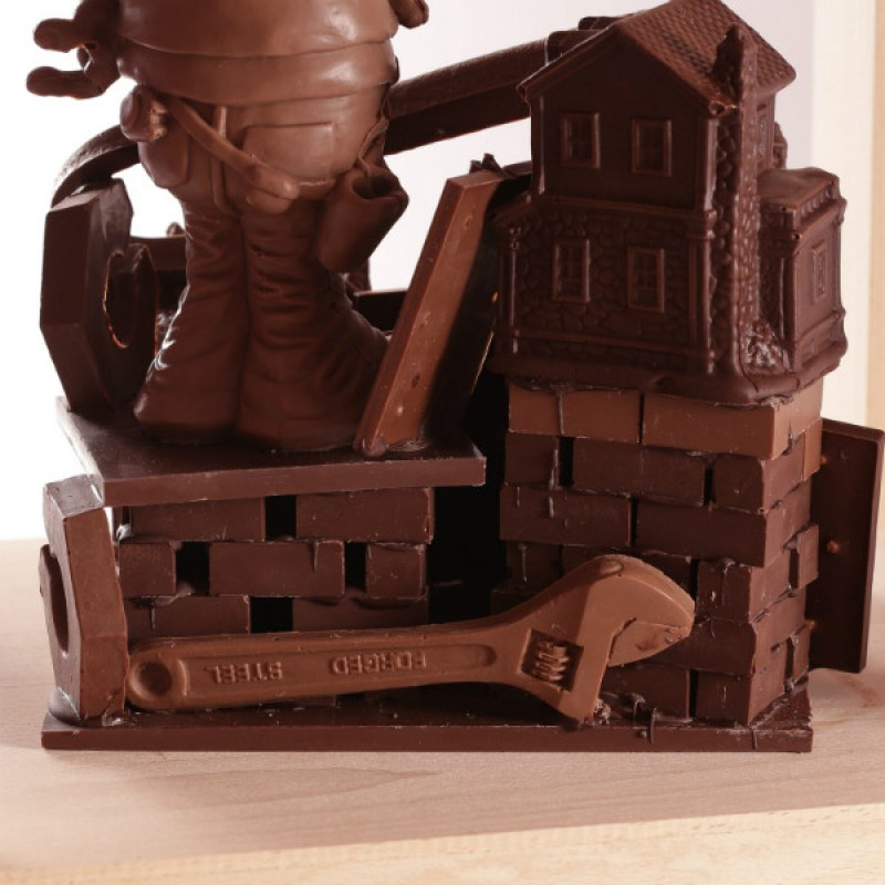 Эксклюзивный шоколадный подарок на День Строителя