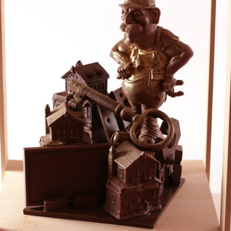 Шоколадные подарки на день строителя