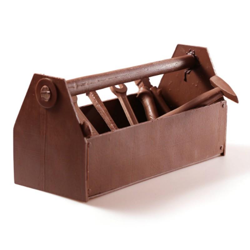 Большой шоколадный ящик с инструментами № 1