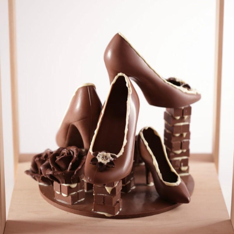 Шоколадные туфли (розничная цена)