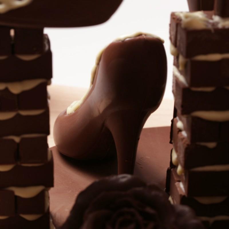 Шоколадные туфли вариант 3