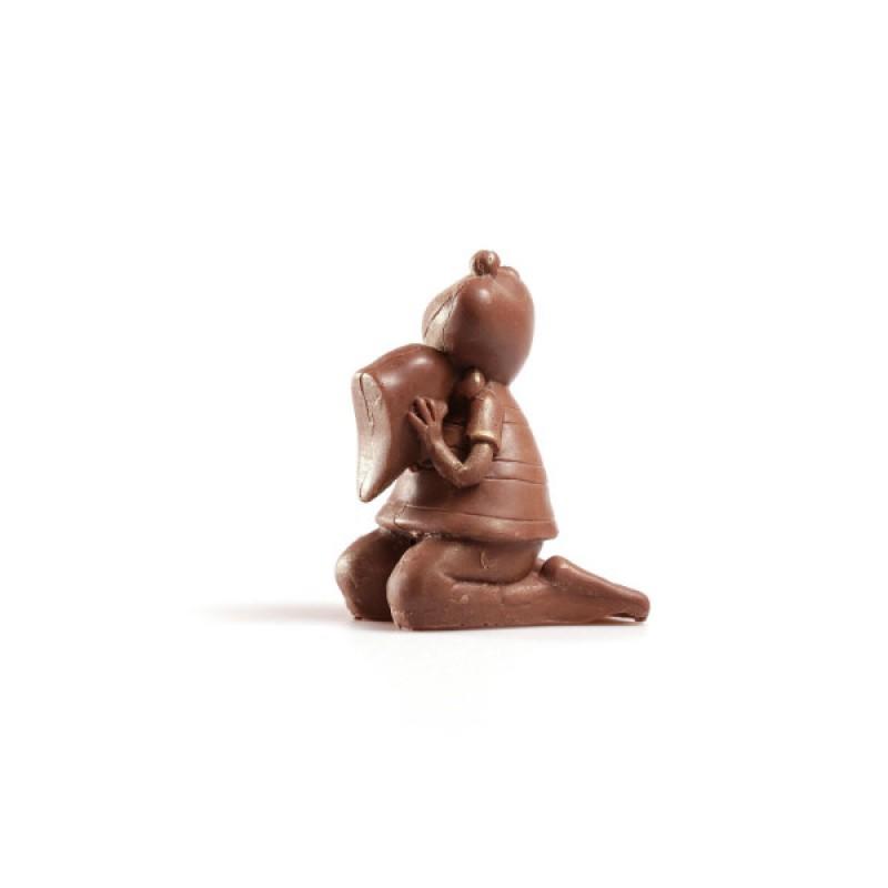 Шоколадная Лягушка с половинкой сердца