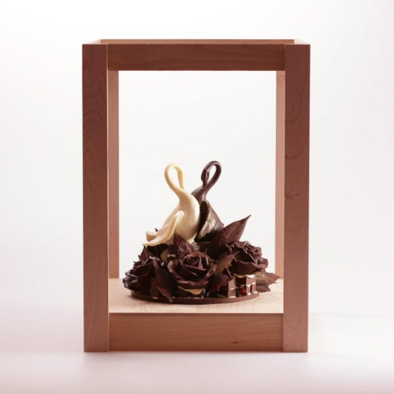 Шоколадные лебеди