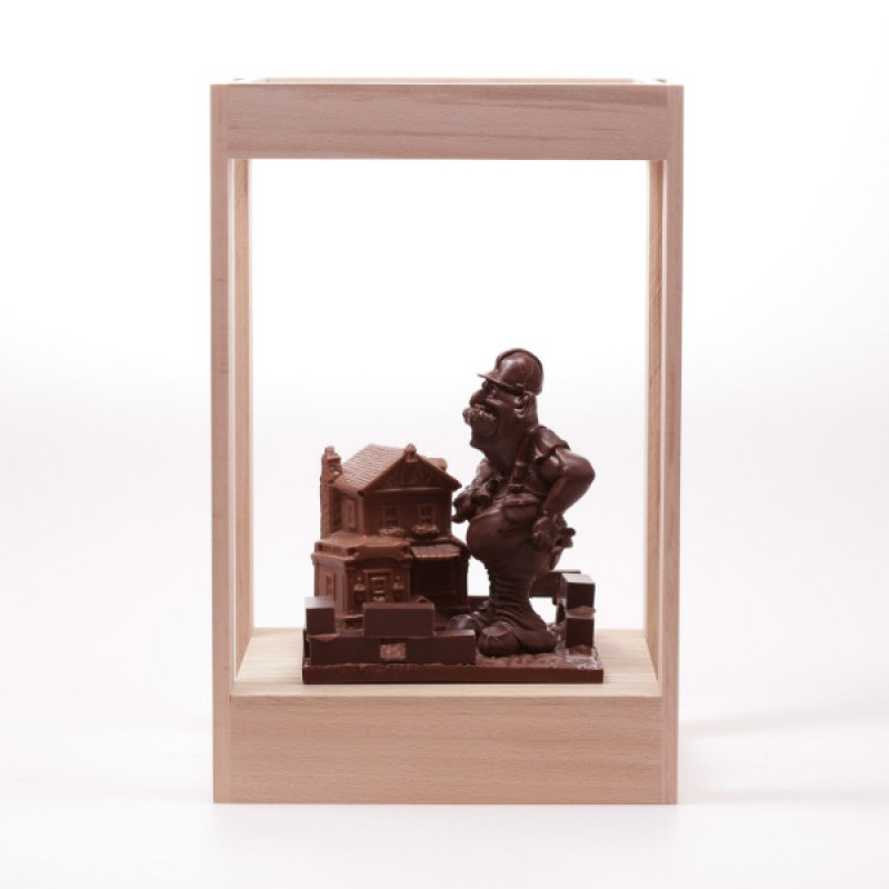 Шоколадная стройка