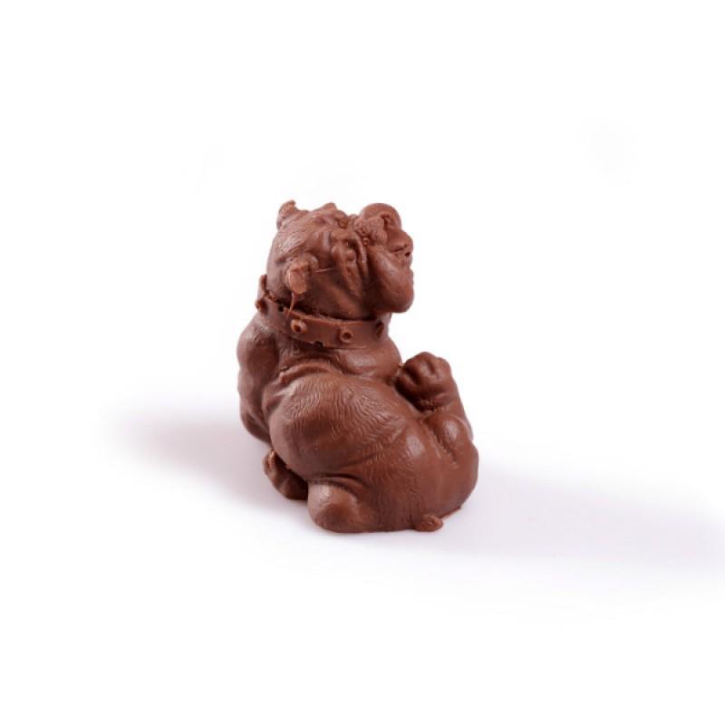 Шоколадный бульдог