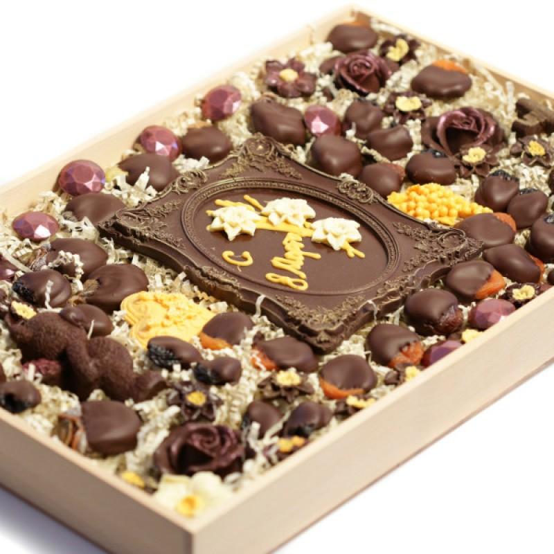 Корпоративные подарки из шоколада 70