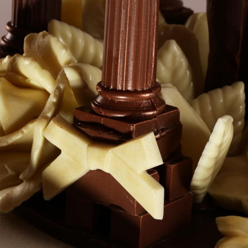 Шоколадная беседка большая