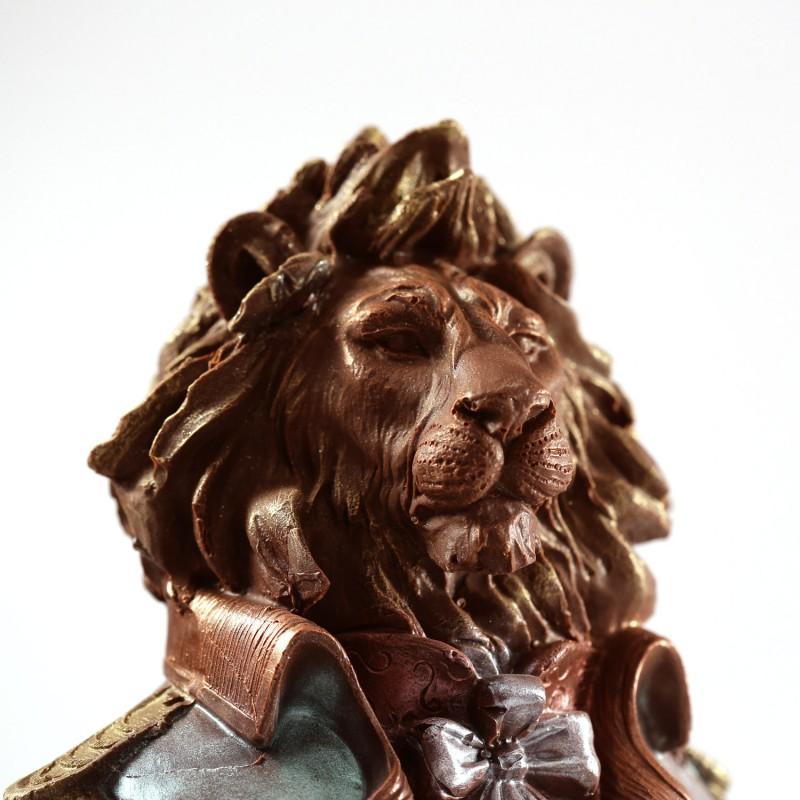 Шоколадный лев большой