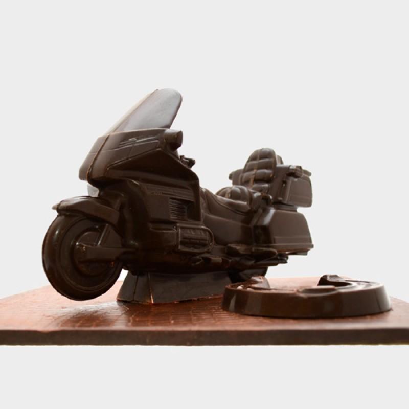Шоколадный мотоцикл Honda Gold Wing