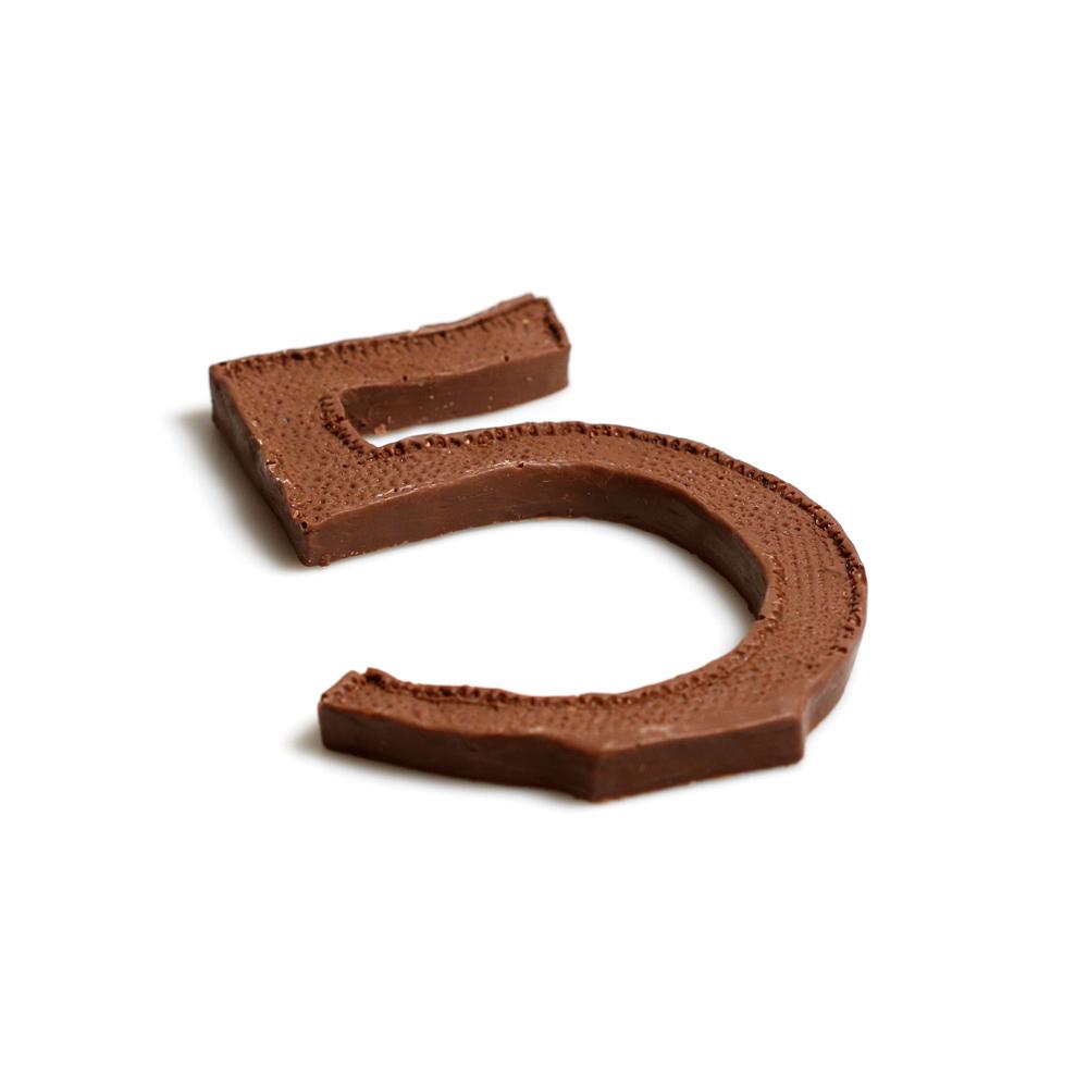 Шоколадные пятерки